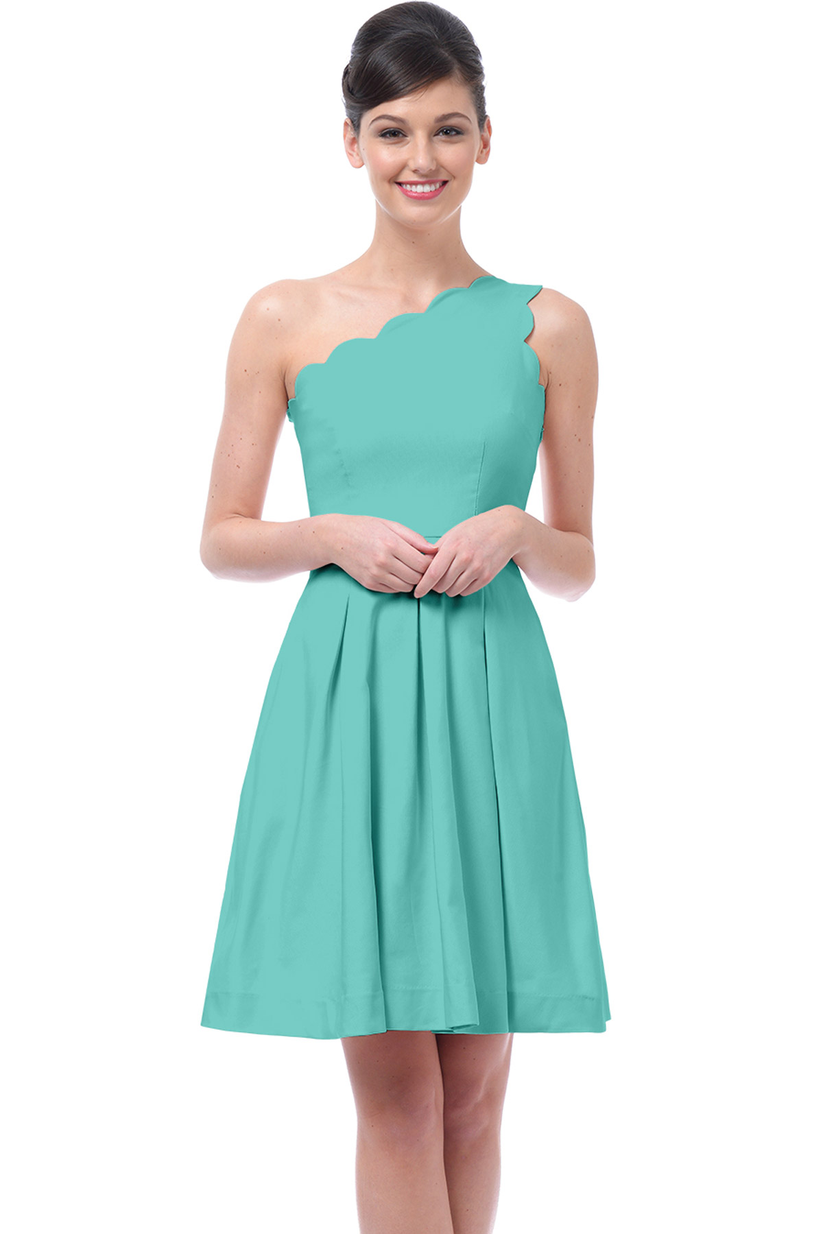 35 Figure-Friendly One Shoulder Bridesmaid Dresses - EverAfterGuide