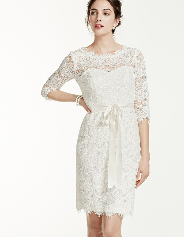 Casual Wedding Dress Mature Bride