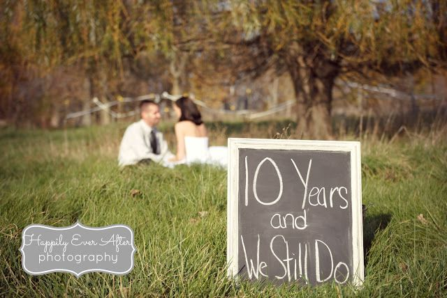 Having Your 10 Year Anniversary Celebrate By Renewing Your Wedding