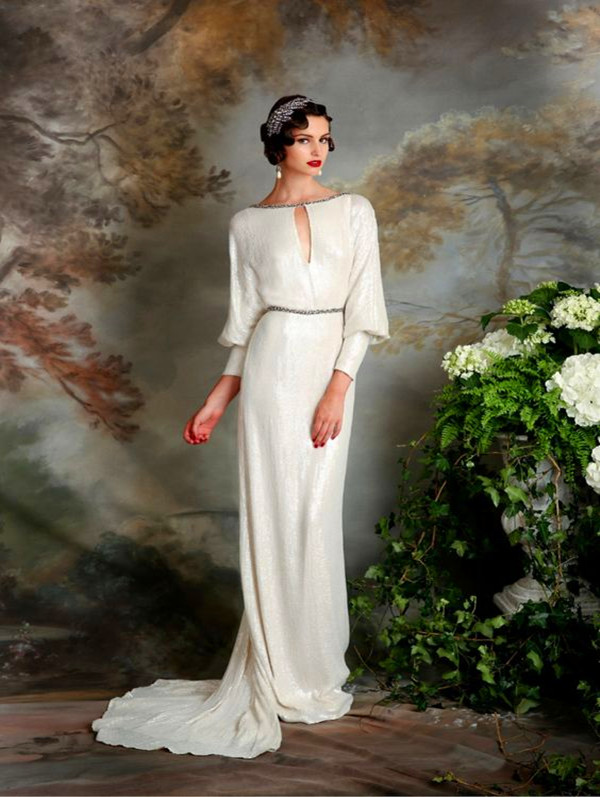 Mature bridal gowns with sleeves