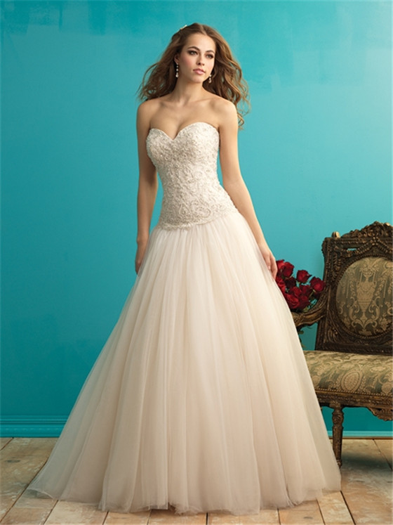 Sweetheart Bodice Ball Gown