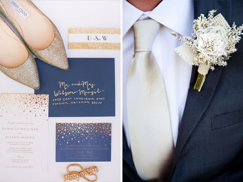 Champagne and Light Blue and other Great Color Combos for Weddings ...