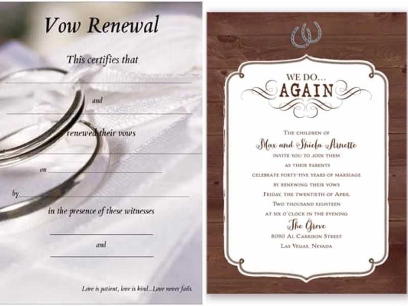 Having Your 10 Year Anniversary Celebrate By Renewing