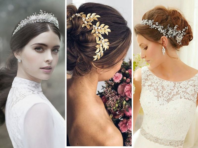 For A Spring Wedding Theme Brides Should Try Freshly Hued Fl Crowns Same Is The Case With Fall Winter Dry Leaves Feathers And